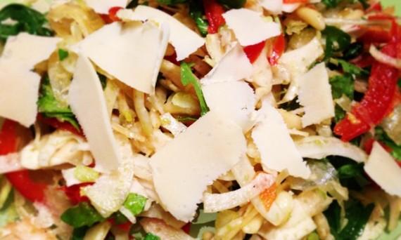 insalata-di-rucola-con-finocchio-e-pinoli