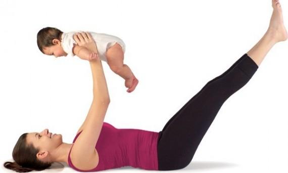 in forma dopo gravidanza