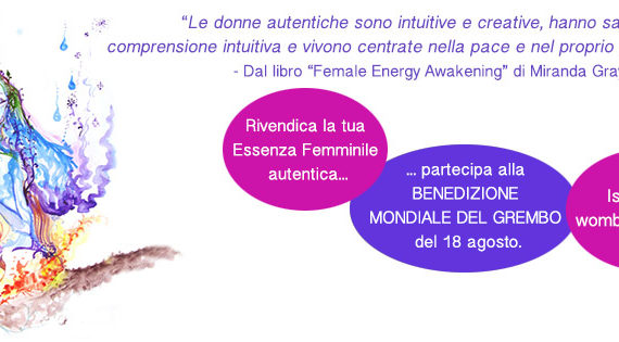 Womb Blessing Agosto 2016